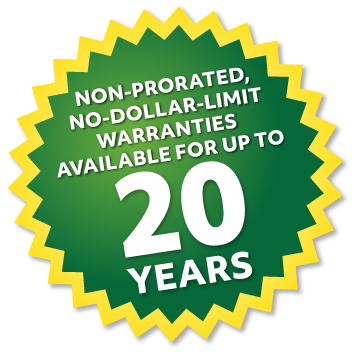 Eco Commercial Roofing 20 Year Warranty